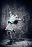 Urban dance stock photo