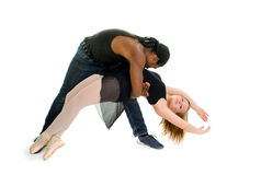 Urban Dance Partners Royalty Free Stock Photography