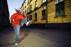Urban dancer Royalty Free Stock Photo