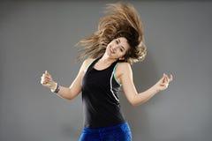 Urban dancer doing moves Royalty Free Stock Photos