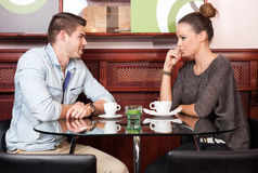 Urban dating fun. Royalty Free Stock Photography