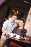 Urban dating fun. Royalty Free Stock Photo