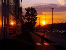 Urban dawn. Royalty Free Stock Images