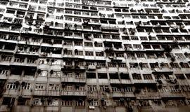 Urban Decay. Decaying High Density Housing Units Royalty Free Stock Photos