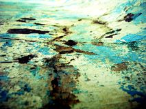 Urban decay. Urban path. Street life showing the grunge look Royalty Free Stock Photo