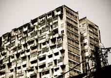 Urban Decay. Monochrome toned image Royalty Free Stock Image