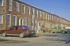 Urban decay, Delaware Royalty Free Stock Photo