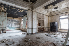 Urban Decay early 1900`s architecture crumbling.  royalty free stock photos