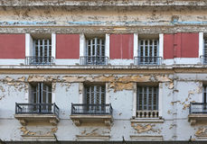 Urban Decay. Neglected and Abandoned Building Urban Decay in Athens Greece Stock Image