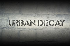 Urban decay Stock Image