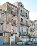 Urban decay in  Taranto Royalty Free Stock Images