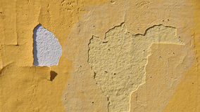 Urban Decline Pattern With Peeling Paint - Background Stock Photo