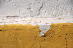 Urban Decline Pattern With Peeling Paint - Background Stock Images