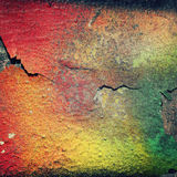 Urban decline pattern with peeling paint - macro background tone Royalty Free Stock Images