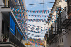 Urban decoration in Utrera Royalty Free Stock Images