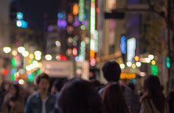 Urban defocused night scene. Image of Urban defocused night scene Stock Photos