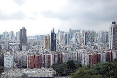 Urban Density of Hong Kong Royalty Free Stock Photography