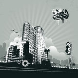 Urban design stock illustration