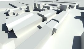 Urban design - modern living houses vector illustration