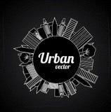 Urban design Stock Images