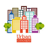 Urban design Royalty Free Stock Photos