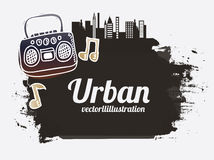 Urban design Stock Image