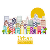 Urban design Royalty Free Stock Image