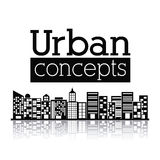 Urban design Royalty Free Stock Photography