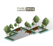 Urban design. Over white background, vector illustration Royalty Free Stock Images