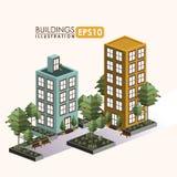 Urban design. Over white background, vector illustration Stock Images