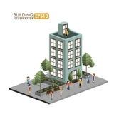 Urban design. Over white background, vector illustration Royalty Free Stock Image