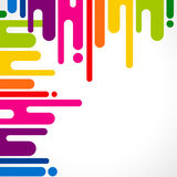 Urban designed background. With stylized abstraction. Vector illustration Royalty Free Stock Photo