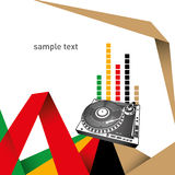 Urban designed layout. Urban designed layout with turntable Royalty Free Stock Photography
