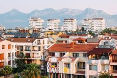 Urban development in the city of Antalya, Stock Photo