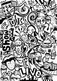 Urban Doodle Royalty Free Stock Photos