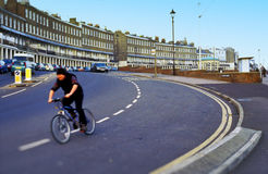 Urban downhill Royalty Free Stock Images