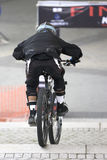 Urban downhill biking Stock Photography