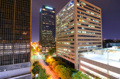 Urban Downtown of Birmingham, Alabama Stock Image