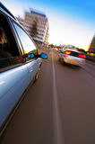 Urban Driving royalty free stock photography
