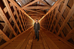 Urban Explorer Royalty Free Stock Images