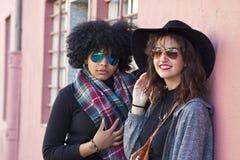 Urban fashion girls Royalty Free Stock Image
