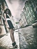 Urban female portrait Stock Images