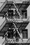 Urban fire escape Royalty Free Stock Image