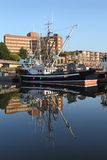 Urban Fishboat, Vancouver Stock Image
