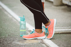 Urban fitness sport and healthy lifestyle concept Royalty Free Stock Photo