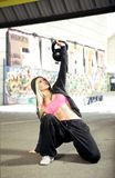 Urban fitness workout Royalty Free Stock Image