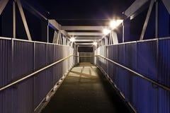 Urban Foot Bridge Royalty Free Stock Photography