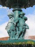 Urban fountain in Lisbon Royalty Free Stock Photos
