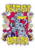 Urban Fresh. Vector illustration ideal for printing on apparel clothes Stock Image