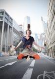 Urban fun Stock Image